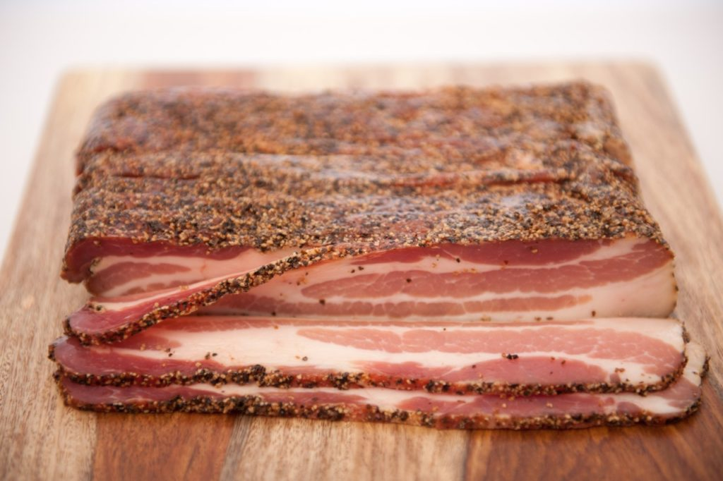 This Bacon was Prepped with Peppercorns