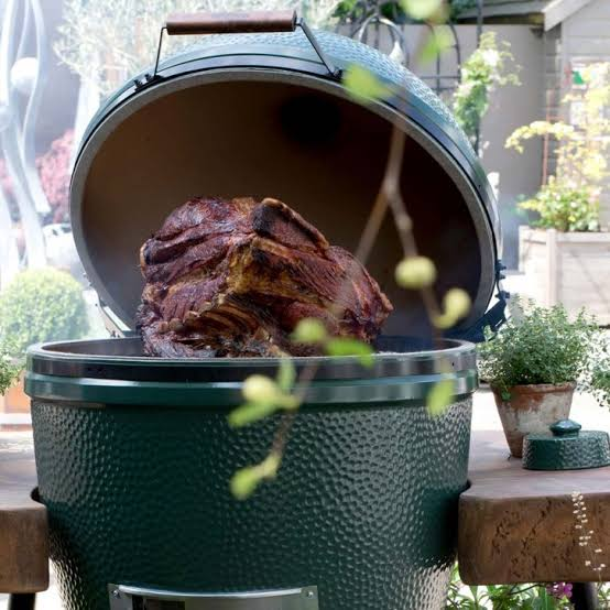 The Big Green Egg in Action
