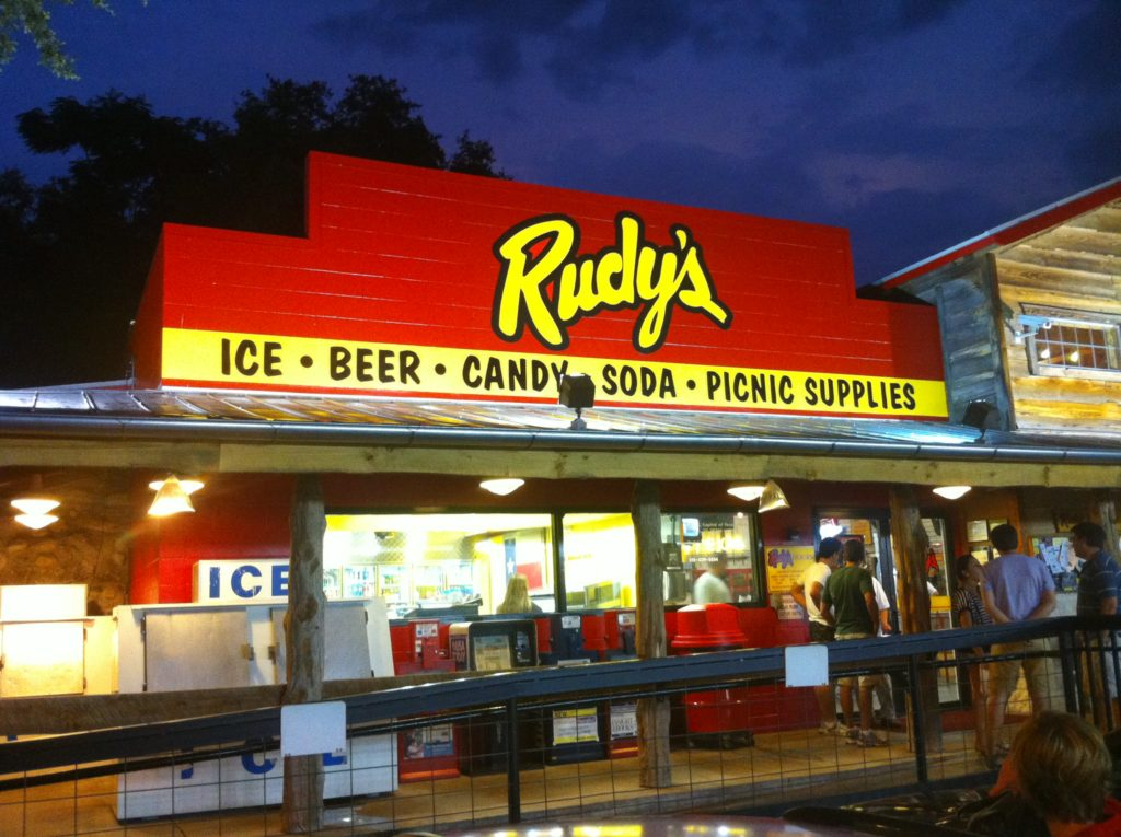 One of the Many Rudy's BBQ Locations